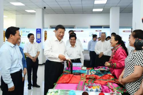 习近平:各民族要一起推动中华民族的发展